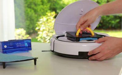 Các bước vệ sinh robot hút bụi đơn giản và đúng cách