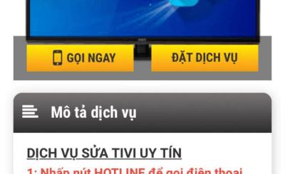 Sửa Tivi Tại Quận Hà Đông - Hà Nội Uy Tín Nhất