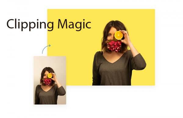 Xóa sạch phông với Clipping Magic
